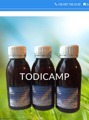 Todikamp website image