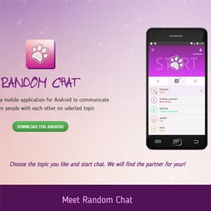 Random chat website image