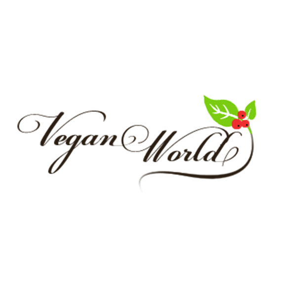 Logo for vegan website